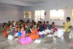 -Shivaniduringcontactclass in Tiruchirappalliat TDES with Master Dr. MathankumarSivanatya